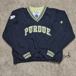 Champion Purdue Boilermakers Men's Lined Pullover